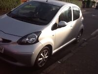 Toyota aygo 2008 for sale,bargain price cheap road tax and insurance