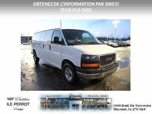 2016 GMC SAVANA CARGO 2500 ALLONGE, CAMERA  ARRIERE,MP-3