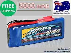 ZIPPY FlightMAX 5000 mAh 2S 20C Lipo Pack - Battery RC Plane Car Copter Genuine