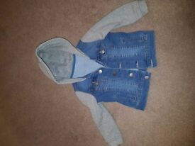 Toddlers jean jacket 2 to 3 year old