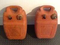 2 x Outboard Fuel Tanks (5 Gallons)