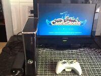 XBOX 360 SLIM GAMES CONSOLE