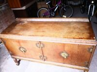 Stunning example of an Antique Edwardian solid oak sideboard
