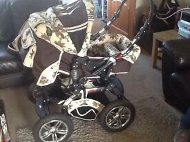 Karex Sportive X5 Baby Pram Pushchair Buggy