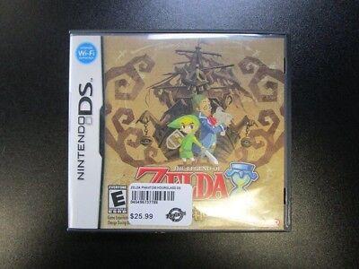 The Legend of Zelda: Phantom Hourglass (Nintendo DS, 2007) CIB Free Shipping