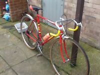Lovely big road bike £45 no offers can deliver for petrol