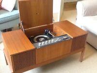 Retro HMV radiogram