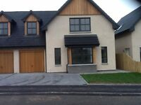 Beautiful new build 3 bedroom house for rent