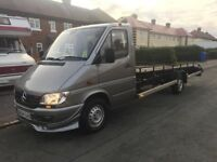 Merecedes sprinter 311 cdi recovery truck ring on 07981340395