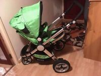 Baby pram for sale with car seat
