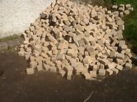 Light brown paving sets brand new