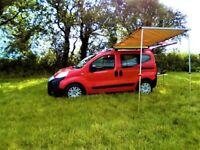 Fiat, QUBO, MPV, 2009, Automatic, 1248 (cc), 5 doors campervan