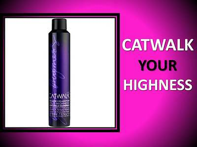 (NEW CATWALK BY TIGI YOUR HIGHNESS VOLUME COLLECTION FIRM HOLD HAIRSPRAY 9 OZ)