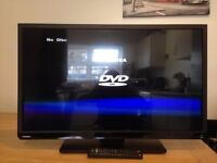 32 inch toshiba led dvd tv with freeview