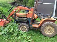 Kubota b1400 front end loader