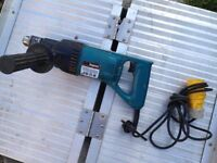 MAKITA 8406 CORE DRILL - 110V - VERY CHEAP AT JUST £90 - FETCHING £140 - £190 2ND HAND ON EBAY -