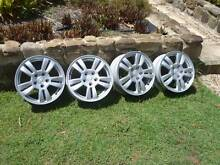 Set of 4 Holden Barina or Astra Alloy Rims AS NEW Hillcrest Logan Area Preview