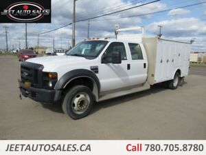 2008 Ford F-550 XLT 4X2 Service truck