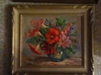 Juanita LeBarre Symington (signed) - Oil Painting