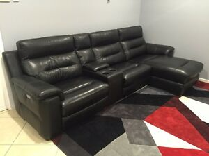 Lounge suite 2 Recliners & Chaise Gumdale Brisbane South East Preview