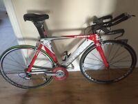 Cervelo P2C TT Triathlon Bike and Power Meter
