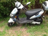 Hurricane Keeway scooter moped for sale 50cc