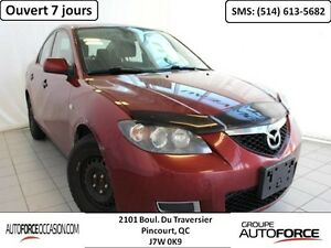 2008 Mazda Mazda3 GX AUT AC BELLE CONDITION