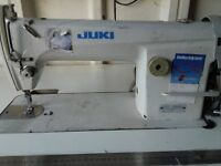juki ddl888n sewing machine,with table and motor