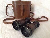 Sports marine binoculars and cases.
