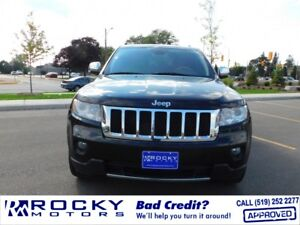 2011 Jeep Grand Cherokee Overland - BAD CREDIT APPROVALS