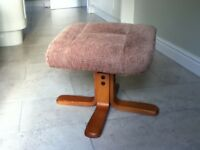 Padded Footstool