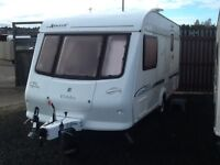 2003 elddis AVANTE 482/2 berth end changing room with fitted mover