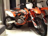 KTM 250 SXF 2015 model New only 8 hours!