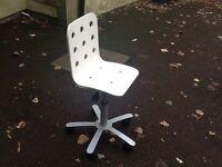 IKEA Jules junior desk chair, white