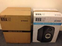 Pair of Brand New Tannoy Reveal 502 Studio Monitors