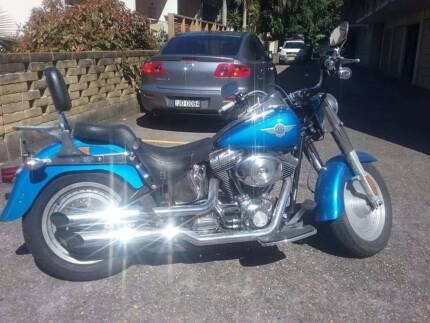 2002 Fat Boy with Screaming Eagle Pipes and Cosmetic Extras