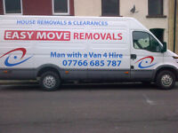 man and van , friendly reliable service , great low prices to suit all