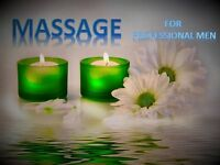 Full body relaxing massage for professional men