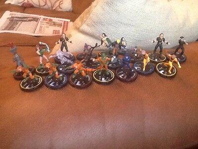 Job Lot Of 29 Different Heroclix DC Origins Figures