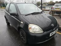 Toyota Yaris 2002, 1 litre, 95000 miles - 2 owners - 3 keys - service history available