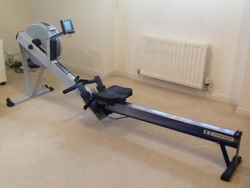 concept rowing machine used