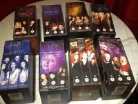 Selection of boxed vhs buffy the vampire slayer all in excellent condition