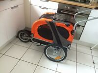 Dog bike trailer / jogging buggy