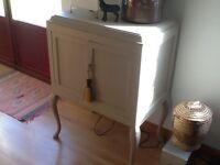 Vintage Wooden 2-Door Cabinet