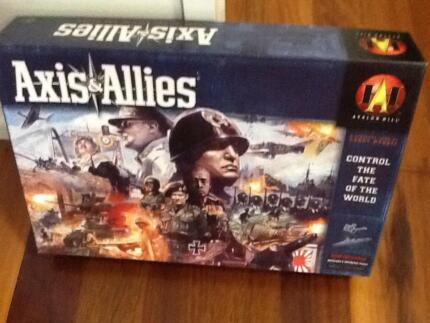 Axis and Allies board game Avalon Hill 2004 edition