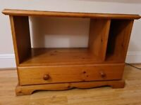 Hamlet TV Unit in PIne with single drawer suitable for living room or bedroom