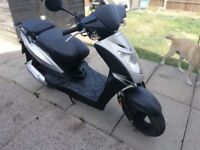 50cc scooter I CAN DELIVER kymco agility FULL M.O.T