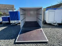 Brand New Twin Axle Box Trailer 400cm x 200cm x 190cm With Fully Lockable Ramp Door 2700KG