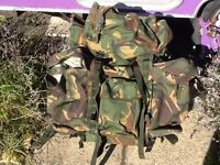 Very large 120 litre ex army Bergen / Rucksack...Excellent condition.
