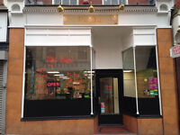 Takeaway in Mansfield, Equipment ready, Accommodation upstairs.